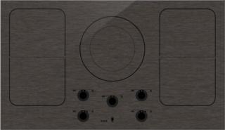 Bridge Induction — функция в индукционных варочных панелях от ASKO | объединения конфорок