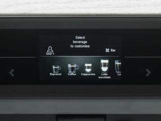 Автоматические кофемашины Asko (Аско) с встроенным TFT-дисплеем