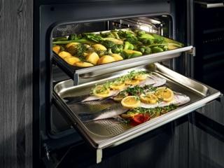 Как можно приготовить на пару в духовках от компании ASKO - готовим здоровую пищу