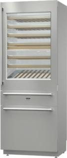 Навеска дверей Door-on-Door в холодильниках Аско