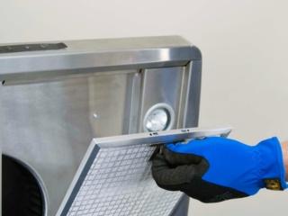 Алюминиевые фильтры в вытяжках Аско